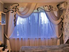 wonderful window dressing #curtains #drapes