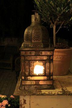 lantern for fall evenings