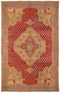 Ghiordes Antique Rug Number 15182, Antique Turkish Rugs   Woven Accents