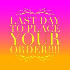 Last Call Orders - Last Day