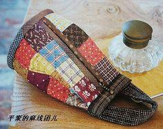 Ideias bolsas de patchwork
