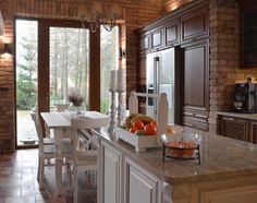 DĘBOWA KUCHNIA - REALIZACJA Kitchen Island, Interior Design, Furniture, Home Decor, Google, Island Kitchen, Nest Design, Decoration Home, Home Interior Design