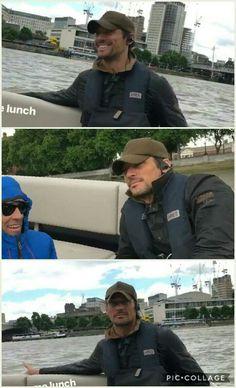 David Gandy today in London. || 06/09/17