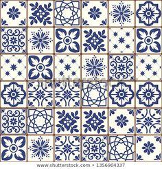 Evil Eye Art, Italian Tiles, Mandala Stencils, Bullet Journal Themes, Portuguese Tiles, Decoupage Paper, Tile Art, Tile Patterns, Tile Design