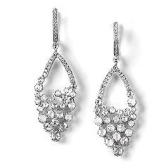 """Ridgewell"" Contemporary Diamond Earrings - Contemporary Diamond Earrings | Earrings | Diamond Jewellery"