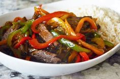 Print Simple Steak or Chicken and Peppers Stir Fry This is another of our favorite stir-fry recipes that we have to share. Simple Steak or Chicken and Peppers Stir Fry is fast and delicious. Served with rice or noodles this dish will never disappoint! Ingredients 1 pound beef steak any cut, cut into strips or …