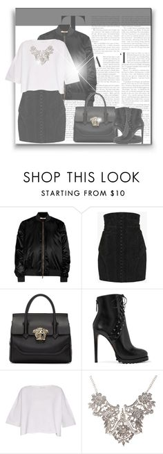 """""""-Stay Classy-"""" by byjjbh on Polyvore featuring Givenchy, Balmain, Versace, Alaïa and Helmut Lang"""