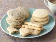 Classic Shortbread Cookies in 4 Ingredients with added 1 ingredient Variations