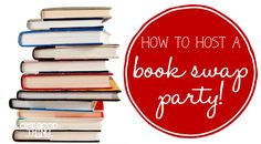 How To Host A Book Swap Party + An Amazon Gift Card Giveaway! - Way to invite people/kick-start book club?