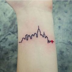 New York… | 22 Breathtaking City Tattoos That Will Give You Wanderlust