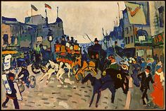 regent street, by Andre Derain.