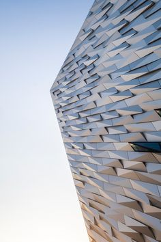 12 Magnificent Modern Lodge Pics Worm's-eye View Of Building At Daytime Architecture Photo, Modern Architecture, Worms Eye View, Modern Lodge, Jazz Bar, European City Breaks, Belfast City, Gold Water, Victorian Buildings