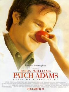 """in yet another film Robin Williams uses his magical talent.....in one of the most beautiful true life stories. """"Patch Adams"""" is a medical student who chooses to change the way doctors treated patients. Based on a true story. A must see."""