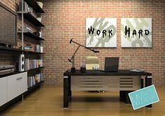 #Inspiracja i #motywacja w biurze dzięki #obrazom  na #płótnie
