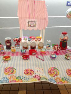 Candy shoppe buffet!!! Thanks to my niece Paola Nicol and Abuela Tata for all your help in planning and preparing  Sabrina's birthday party!!!;-)