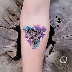 Check koray_karagozler's Instagram • Reality Is An ILLusion • . . . #Hibiscus #flower #nature #watercolor #triangle #watercolortattoo #tattoo #abstract #abstracttattoo #lines #negative #koraykaragozler 1488343018758258179_237966405