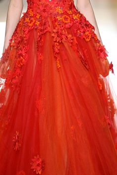 Zuhair Murad fall 2012 couture details