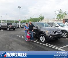 Wolfchase Chrysler Jeep would like to say Congratulations to Jason Jeffreys on the 2014 Jeep Grand Cherokee