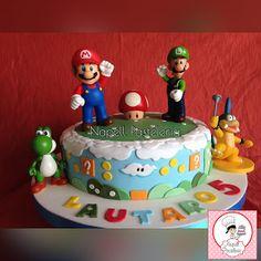Napell Pasteleria: Super Mario Bros