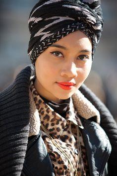 bb78141a9da1 Yuna Coiffe, Foulard, Chapeau, Visage, Maquillage, Style Turban, Kenzo,