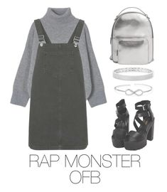 """Rap Monster bts outfit"" by mazera-kor on Polyvore featuring мода, Topshop, MANGO, Anne Sisteron, Sevil Designs, outfit, bts, rapmonster, Namjoon и BtsFashion"
