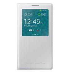 Samsung - Funda para Samsung Galaxy Note 3 con ventana frontal, color blanco - http://www.tiendasmoviles.net/2016/05/samsung-funda-para-samsung-galaxy-note-3-con-ventana-frontal-color-blanco/