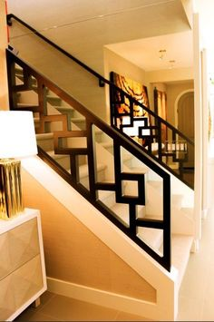 16 Unique Modern Staircase Design Ideas For Your Dream House Staircase Railing Design, Modern Stair Railing, Balcony Railing Design, Home Stairs Design, Staircase Railings, Modern Stairs, Interior Stairs, House Design, Staircase Ideas