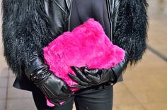 A little dash of Accessories Gal made it into the huff post style section today! New York Fashion Week Street Style Shows Us It's All In The Bag