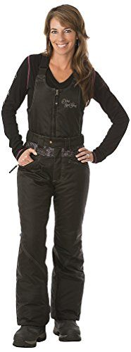 Divas SnowGear Womens Lace Collection BibPants Black Small * Click on the image for additional details. This is an Amazon Affiliate links.