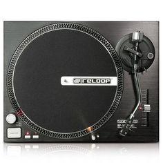 Sprzęt DJski   gramofon stereo HiFi z przedwzmacniaczem i portem USB StageFX #music #DJ - http://www.stageFX.pl