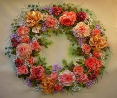 ribbonwork | ribbonwork . . . wreath