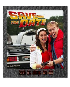 Back to the Future Save the Dates!