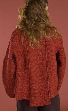 Free Pattern: Panel Jacket by Carol Lapin