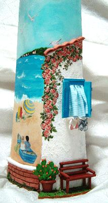 casa-al-mare Tile Projects, Projects To Try, Dolphin Photos, Diy And Crafts, Crafts For Kids, Roof Tiles, Air Dry Clay, Tile Art, Bottle Crafts