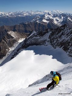 #snowboard amazing view