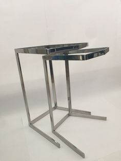Stainless steel Nesting table stacking table 26inch by IDAMETAL