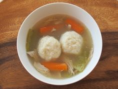 More #GF for your #Passover table. Instead of Matzah Balls, make this. - Gluten Free Potato Knaidelach