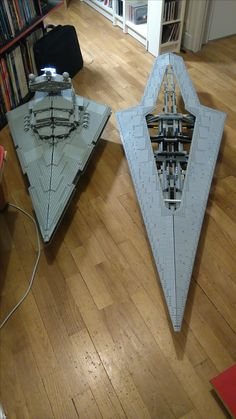 Star Wars Planets, Star Wars Ships, Lego Star Wars, Star Destroyer, Cool Lego, Cool Toys, Maquette Star Wars, Star Wars Spaceships, Lego Sculptures