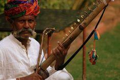 Musicien Rajput à Jhunjhunu en Inde.