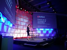 """Launch of the """"Say OUI to France"""" campaign by Fleur Pellerin at the EmTech conference.    www.sayouitofrance-innovation.com"""