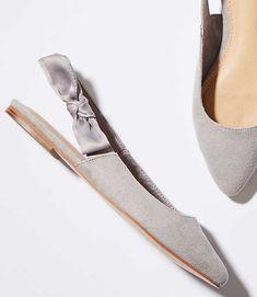 09db1032c Shop LOFT for stylish women s clothing. You ll love our irresistible Bow  Slingback Flats. Minimalist ShoesMinimalist FashionFab ShoesCasual ...