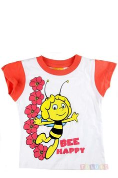 T-shirt Maya l'abeille blanc https://www.toluki.com/prod.php?id=1058 #enfant #Toluki #mode