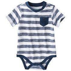 Cherokee® Newborn Infant Boys' Short-Sleeve Bodysuit