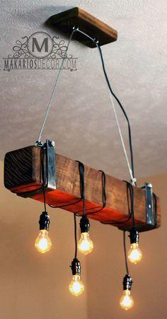 Light.Lamp.Ceiling light.lighting.pendant Light von MakariosDecor