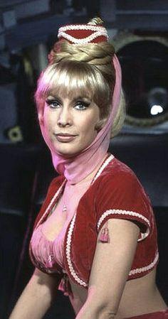 "Barbara Eden as Jeannie in ""I Dream of Jeannie"" (1965-1970 NBC)"