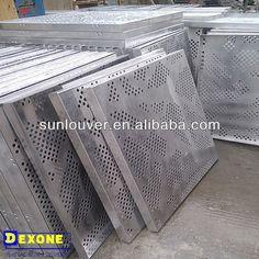 CNC Aluminum laser cutting panel for metal curtain wall  facade $30~$50