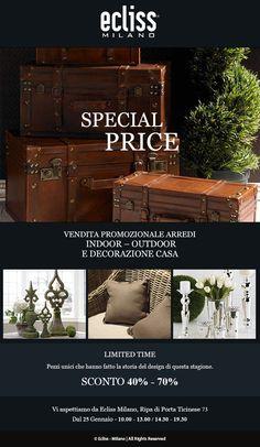 Dal 25 gennaio vendita speciale Ecliss Milano