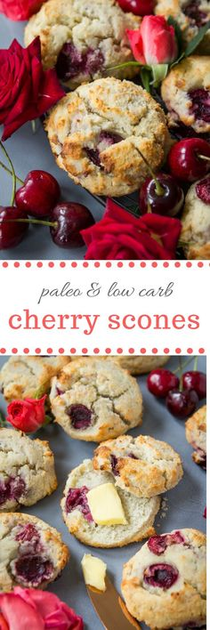 Selecting The Suitable Cheeses To Go Together With Your Oregon Wine Paleo Cherry Scones Sugar Free, Gluten Free, Low Paleo Sweets, Paleo Dessert, Gluten Free Desserts, Healthy Desserts, Paleo Recipes, Low Carb Recipes, Whole Food Recipes, Cooking Recipes, Free Recipes