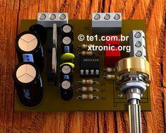Circuito Operacional : Circuito de pré amplificador estéreo simples de fácil montagem