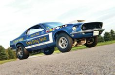 1969 Ford Mustang SOHC Front Low